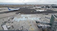 Blick auf den Frankfurter Flughafen.