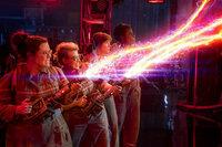 Ghostbusters Melissa McCarthy als Abby Yates, Kate McKinnon als Jillian Holtzmann, Kristen Wiig als Erin Gilbert, Leslie Jones als Patty Tolan SRF/2016 Columbia Pictures Industries, Inc. and Village Roadshow Films Global Inc.