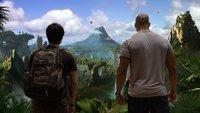 Als Sean (Josh Hutcherson, l.) und sein Stiefvater Hank (Dwayne Johnson, r.) tatsächlich auf die geheimnisvolle Insel stoßen, ahnen sie nicht, dass auf dieser faszinierenden Insel einige Gefahren auf sie warten ...