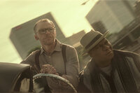 Mission: Impossible - Fallout Simon Pegg als Benji Dunn, Ving Rhames als Luther Stickell. SRF/Paramount Pictures