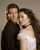 "Premiere: ""Die Legende des Zorro"" Im Bild: Antonio Banderas, Catherine Zeta-Jones."