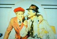 Gemeinsam wollen die beiden Trickbetrüger Henry Gondorff (Paul Newman, r.) und Johnny Hooker (Robert Redford, l.) einen Buchmacherladen eröffnen, in dem der skrupellose Doyle Lonnegan in die Falle gehen soll ...