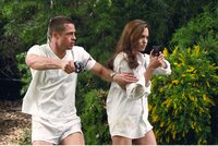 L-R: John Smith (Brad Pitt) und Jane Smith (Angelina Jolie)