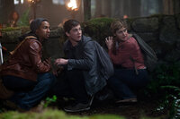 Grover (Brandon T. Jackson), Percy (Logan Lerman) and Annabeth (Alexandra Daddario) prepare for another fateful adventure.