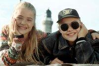 Charlie (Fritzi Eichhorn, li.) Louise (Floriane Eichhorn, re.)