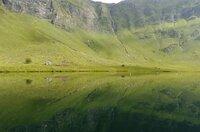 Der See im Val Piora/Tessin bietet Wissenschaftlern Einblicke in die Entstehungsgeschichte des Lebens.