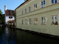 St. Ursula in Augsburg, wohin Königin Marie beider Sizilien 1862 floh.