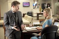 Als Britt Britt (Seth Rogen, l.) bemerkt, dass auch Kato mit seiner neuen Sekretärin, Lenore Case (Cameron Diaz, r.), ausgehen will, rastet er total aus. Mit fatalen Folgen ...