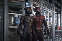 Wasp (Evangeline Lilly, l.); Ant-Man (Paul Rudd, r.)