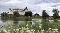Seit fast 400 Jahren kaum verändert - Schloss Läckö am Vänersee.