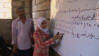 Trotz Krieg können die Kinder von Taiz im Süden des Jemen in dieser improvisierten Schule zum Unterricht gehen.