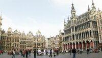 Blick auf die Grand Place in Brüssel.