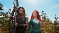 Arthur Curry / Aquaman (Jason Momoa, l.); Mera (Amber Heard, r.)