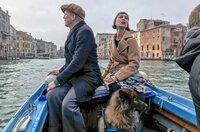Ulrich Tukur mit Ehefrau Katharina John in seinem langjährigen Wohnort Venedig, von dem er sich nun nach 20 Jahren verabschiedet
