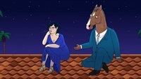 Diane Nguyen (l.); BoJack Horseman (r.)