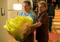 L-R: Matt Damon (Paul Safranek), Christoph Waltz (Dusan Mirkovic).