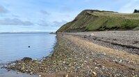 Die Mole-Klippen auf der Insel Mors sind berühmte archäologische Schatzkammern