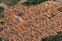 3D-Rekonstruktion der Stadt Narbonne: Paradoxerweise zeigt die Stadt heute keinerlei sichtbare Spuren mehr von ihrer eindrucksvollen Architektur. Weit unbedeutendere römische Städte wie Nîmes oder Arles dagegen sind voll von antiken Überresten.