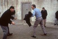 (v.l.n.r.) Wolf (Bruce M. Fischer); Frank Morris (Clint Eastwood); Chester 'Doc' Dalton (Roberts Blossom)