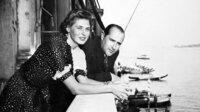 Ingrid Bergman und Roberto Rossellini