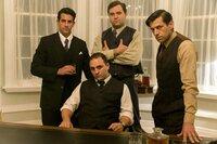 Al Capone zusammen mit seinen Verbündeten.
