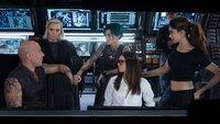 L-R: Xander (Vin Diesel); Jane (Toni Collette); Adele (Ruby Rose); Becky (Nina Dobrev); Serena (Deepika Padukone)