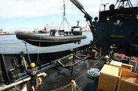 On board the Sea Shepherd's 'Steve Irwin'.