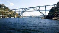 Auch 1875 bekommt Gustave Eiffel den Auftrag für eine Brücke in Porto. Er überzeugt dabei mit Kosteneffizienz und setzt mit einer Spannweite von 160 Metern neue Maßstäbe.