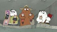 L-R: Panda, Grizzly, Ice Bear