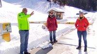 Martin Dämon und Eva Schartner von der Bürgerliste Dialog lebenswertes Altaussee und Landesumwältin Ute Pöllinger kritisieren das Gondelprojekt. Sie befürchten Massentourismus und eine zusätzliche Verbauung des kleinen Skigebiets.