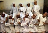 Das Sufi-Ensemble Maulidi ya Homu.