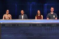 Die Kandidaten (v.l.n.r.): Britta Melcher, Alexander Kulpok, Aline Masson und Luca Lanwert.