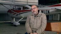 Peter Misch. Der ehemalige Jet- NVA Pilot war am Tag des Unglücks als Moderator tätig.