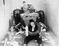 Stan Laurel, Oliver Hardy.