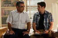 Eugene Levy (Jim's Dad), Jason Biggs (Jim Levenstein).