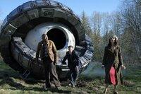V.l.: Rufus Carlin (Malcolm Barrett), Wyatt Logan (Matt Lanter), Lucy Preston (Abigail Spencer)