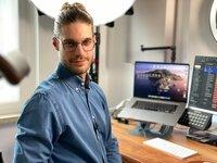 """Tobias Jost nennt sich """"Der Karriereguru"""" auf TikTok. Der 32-jährige produziert Videos zu Schule, Ausbildung, Beruf und Studium. Alles, was ein junger Mensch braucht, um in der Schul- und Arbeitswelt zu bestehen. """"ZDF WISO"""" war bei einem Videodreh hinter den Kulissen dabei."""