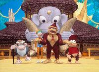 Donkey Kong ist ein herzensguter Affe, der keiner Fliege etwas zu Leide tut. Es sei denn, jemand bedroht seine Freunde. Dann wird der sonst gutmütige Donkey zu einem äußerst ungemütlichen Zeitgenossen.
