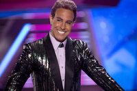 Moderator Caesar Flickerman (Stanley Tucci) vergeht schon bald das Lachen ...