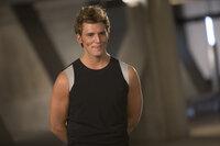 Kann Katniss dem Liebling des Kapitols, Finnick (Sam Claflin), trauen und ihn zu ihrem Verbündeten machen?