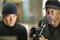 Um seine Schulden bei einem mächtigen russischen Gangster abzahlen zu können, muss Kunstdieb Keith Ripley (Morgan Freeman, r.) einen Partner für einen neuen Coup gewinnen. Doch ist Gabriel Martin (Antonio Banderas, l.) wirklich der Richtige dafür?