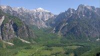 Almtal totes Gebirge.