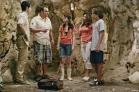 """WIZARDS OF WAVERLY PLACE - The cast of """"Wizards of Waverly Place"""" DAVID HENRIE, DAVID DELUISE, SELENA GOMEZ, MARIA CANALS-BARRERA, JAKE T. AUSTIN"""