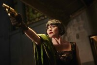 Essie Davis as Phryne Fisher.