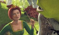 Ist ihr Retter, der wenig schöne Oger Shrek (r.), vielleicht doch ein ganz guter Kerl? Prinzessin Fiona (l.) beginnt, ihre anfänglichen Vorurteile zu überdenken ...