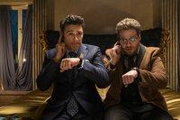 L-R: Dave Skylark (James Franco) und Aaron Rapaport (Seth Rogen)