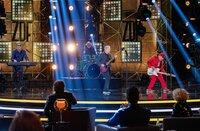 Die Band Spider Murphy Gang auf der Bühne.