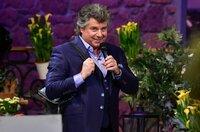 Mit viel Spass dabei: Moderator, Sänger und Gastgeber Andy Borg