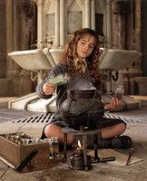 """Die exzellente Zauberschülerin Hermine (Emma Watson) gerät immer mit den alteingesessenen Zauberfamilien aneinander, weil sie nicht """"reinblütig"""" ist ..."""