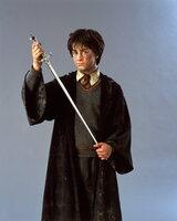 Macht sich auf, der finsteren Macht, die seine geliebte Schule bedroht, den Garaus zu machen: Harry Potter (Daniel Radcliffe) ...